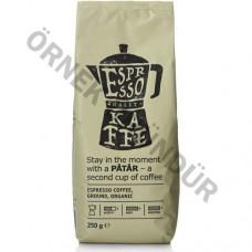 Patar Espresso Öğütülmüş Organik Kahve 250 gr